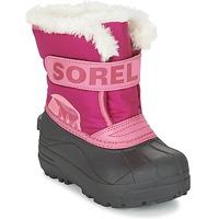 Čevlji  Otroci Škornji za sneg Sorel CHILDRENS SNOW COMMANDER Rožnata