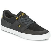 Čevlji  Moški Nizke superge DC Shoes WES KREMER Črna / Siva / Rumena