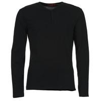 Oblačila Moški Majice z dolgimi rokavi BOTD ETUNAMA Črna
