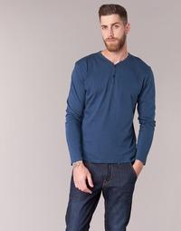 Oblačila Moški Majice z dolgimi rokavi BOTD ETUNAMA Modra