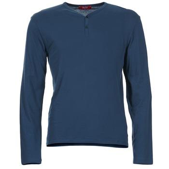 Oblačila Moški Majice z dolgimi rokavi BOTD ETUNAMA niebieski