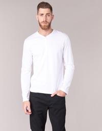 Oblačila Moški Majice z dolgimi rokavi BOTD ETUNAMA Bela