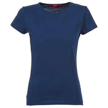 Oblačila Ženske Majice s kratkimi rokavi BOTD EQUATILA Modra