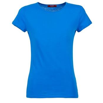 Oblačila Ženske Majice s kratkimi rokavi BOTD EQUATILA Niebieski