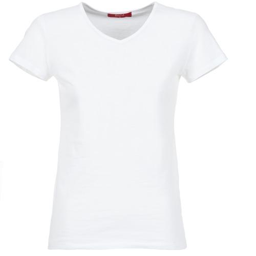 Oblačila Ženske Majice s kratkimi rokavi BOTD EFLOMU Bela
