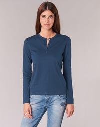 Oblačila Ženske Majice z dolgimi rokavi BOTD EBISCOL Modra