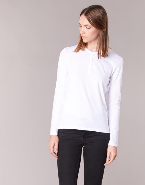 Oblačila Ženske Majice z dolgimi rokavi BOTD EBISCOL Bela
