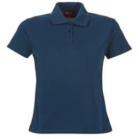 Oblačila Ženske Polo majice kratki rokavi BOTD ECLOVERA Modra