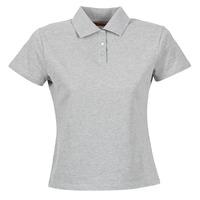 Oblačila Ženske Polo majice kratki rokavi BOTD ECLOVERA Siva