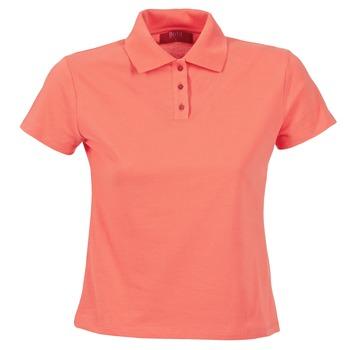 Oblačila Ženske Polo majice kratki rokavi BOTD ECLOVERA Oranžna