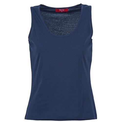 Oblačila Ženske Majice brez rokavov BOTD EDEBALA Modra