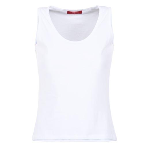 Oblačila Ženske Majice brez rokavov BOTD EDEBALA Bela