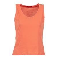Oblačila Ženske Majice brez rokavov BOTD EDEBALA Oranžna
