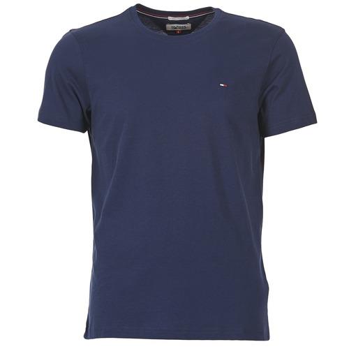 Oblačila Moški Majice s kratkimi rokavi Tommy Jeans OFLEKI Modra