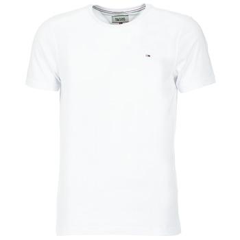 Oblačila Moški Majice s kratkimi rokavi Tommy Jeans OFLEKI Bela