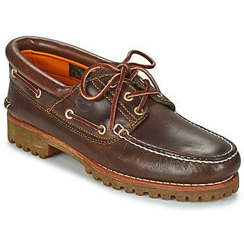 Čevlji  Moški Mokasini & Jadralni čevlji Timberland 3 EYE CLASSIC LUG Kostanjeva