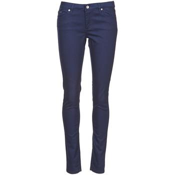 Oblačila Ženske Hlače s 5 žepi Element STICKER Modra