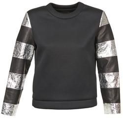 Oblačila Ženske Puloverji American Retro DOROTHY Črna / Srebrna
