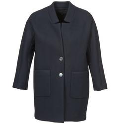 Oblačila Ženske Plašči American Retro LAURA Modra