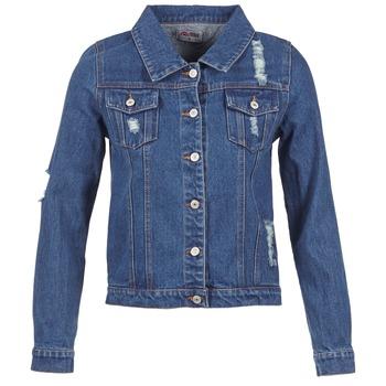 Oblačila Ženske Jeans jakne Yurban ESPINALE Modra
