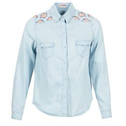 Oblačila Ženske Srajce & Bluze Yurban EGUATOULE Modra / Svetla