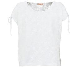 Oblačila Ženske Topi & Bluze Moony Mood EDDA Kremno bela