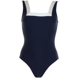 Oblačila Ženske Enodelne kopalke Janine Robin 991272-18 Modra