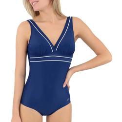 Oblačila Ženske Enodelne kopalke Janine Robin 991278-18 Modra