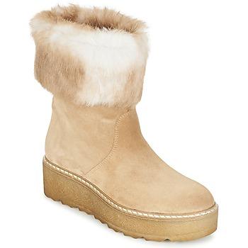 Čevlji  Ženske Polškornji Nome Footwear MOVETTA Bež