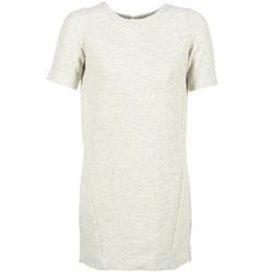 Oblačila Ženske Kratke obleke Loreak Mendian HAMABI Kremno bela