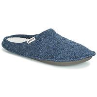 Čevlji  Nogavice Crocs CLASSIC SLIPPER Mornarsko modra