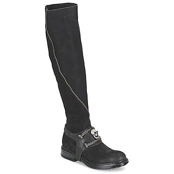 Čevlji  Ženske Mestni škornji    Now CALOPORO Črna