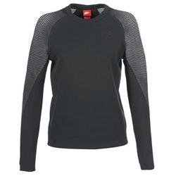 Oblačila Ženske Puloverji Nike TECH FLEECE CREW Črna