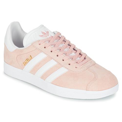 Čevlji  Ženske Nizke superge adidas Originals GAZELLE Rožnata
