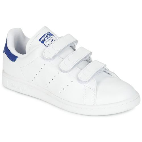 Čevlji  Nizke superge adidas Originals STAN SMITH CF Bela / Modra