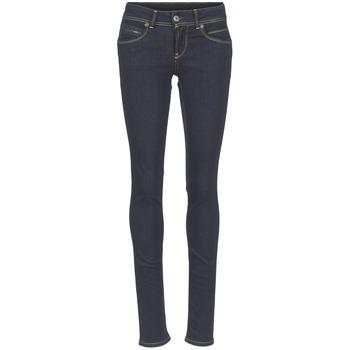 Oblačila Ženske Kavbojke slim Pepe jeans NEW BROOKE M15 / Modra / Brut