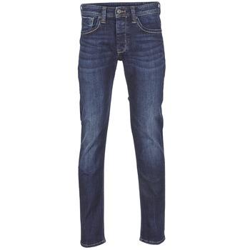 Oblačila Moški Jeans straight Pepe jeans CASH Z45 / Modra