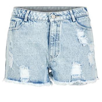 Oblačila Ženske Kratke hlače & Bermuda Yurban EVANUXE Modra / Svetla