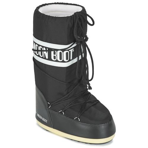 Čevlji  Škornji za sneg Moon Boot MOON BOOT NYLON Črna