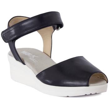 Čevlji  Ženske Sandali & Odprti čevlji Melluso SANDALO ARC NOTTE Blu