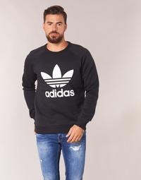 Oblačila Moški Puloverji adidas Originals TREFOIL CREW Črna
