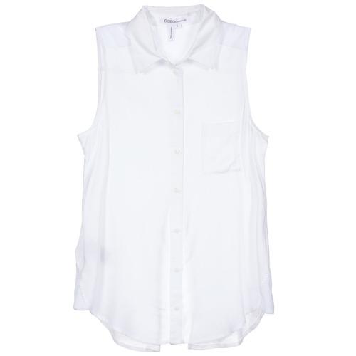 Oblačila Ženske Srajce & Bluze BCBGeneration 616953 Bela