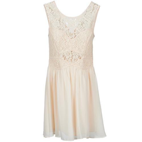 Oblačila Ženske Kratke obleke BCBGeneration 617574 Bež