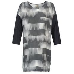 Oblačila Ženske Kratke obleke Bench CRISP Črna / Siva