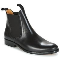 Čevlji  Moški Polškornji Brett & Sons LOUVAL Črna