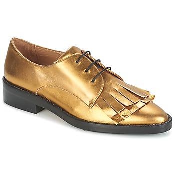 Čevlji  Ženske Čevlji Derby Castaner GERTRUD Zlata