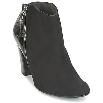 Čevlji  Ženske Nizki škornji France Mode NANTES Črna / Varnish