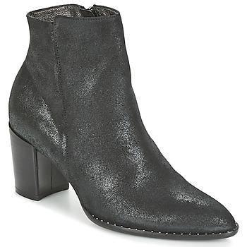 Čevlji  Ženske Gležnjarji France Mode OLFY Črna