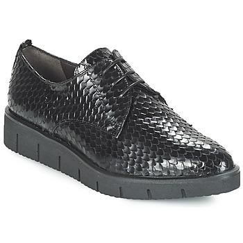 Čevlji  Ženske Čevlji Derby Perlato MEQUINI Črna