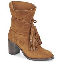Čevlji  Ženske Gležnjarji Jeffrey Campbell LAFORGE Kamel